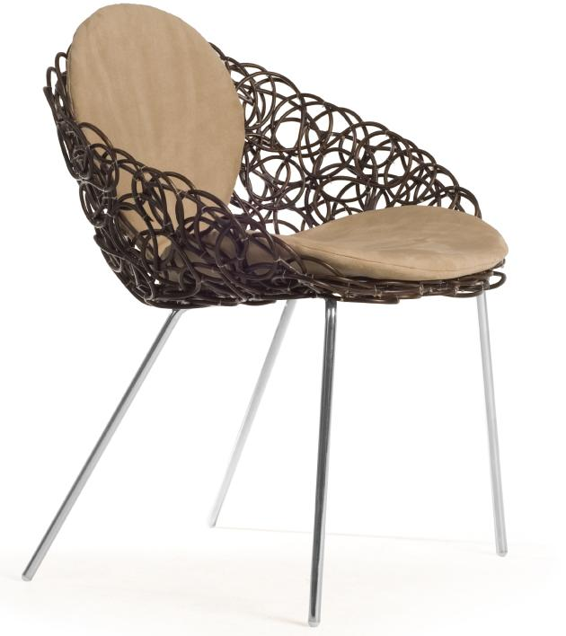 Chaise Noodle par Kenneth Cobonpue