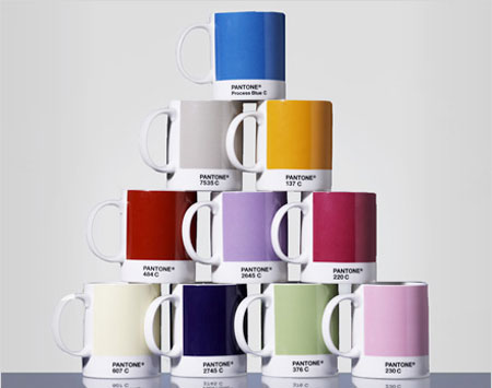 Virages Pantone Mug Design