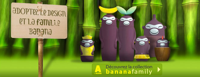 Banana Family A Di Alessi