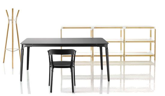 steelwood collection mobilier magis