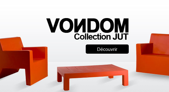 Collection mobilier jardin Jut Vondom - Blog déco UareDesign !