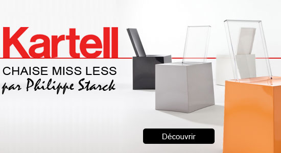 chaise miss less kartell