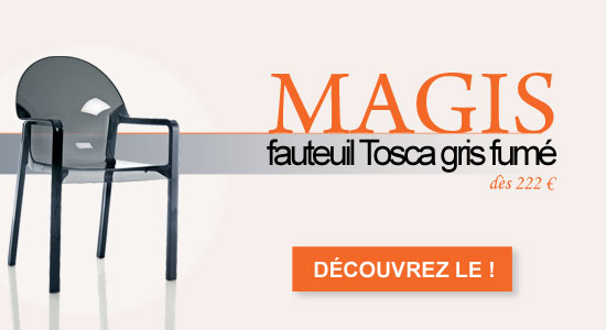 Fauteuil Tosca Magis