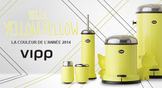 "La couleur VIPP 2014 : le jaune ""yellow fellow"""